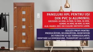 Paneluri usi HPL